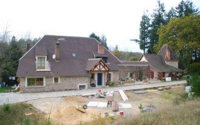 Extension et restauration d'une maison d'habitation