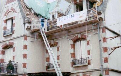 Restauration de couverture ardoise