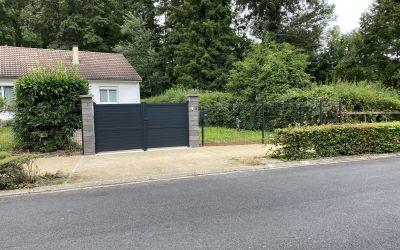 Remplacement clôture et portail