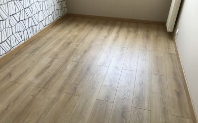 Parquet sur isolant phonique
